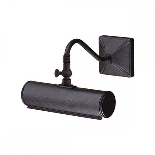 Elstead PL1/10 BLACK Picture Light One Light Small Picture Light Black